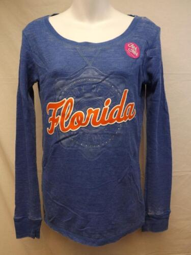 New Florida Gators Womens Sizes S-M-L-XL-2XL Burnout Long Sleeve Shirt $40