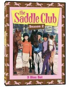 The-Saddle-Club-Complete-Second-Season-Series-2-TV-Show-DVD-Set-NEW-Horses-OOP