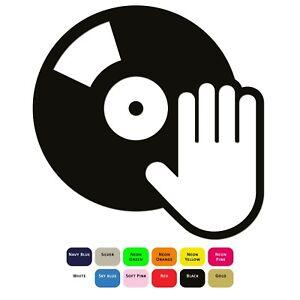 DJ-Music-Iron-On-T-Shirt-Clothes-Heat-Transfer-Vinyl-Sticker-HTV-Decal