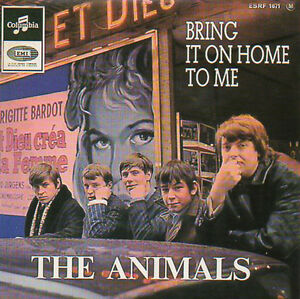 CD-Single-The-ANIMALS-Bring-it-on-home-to-me-EP-4-track-CARD-SLEEVE