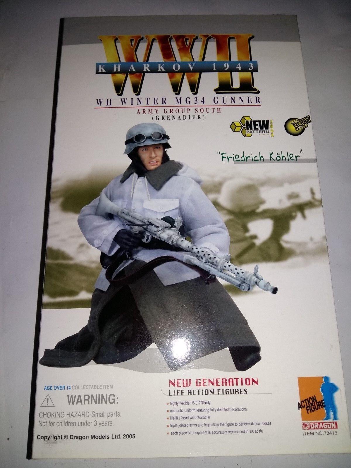 DRAGON. WH Winter MG 40 Gunner. Army group south.Grenadier  Friedrich Kohl . 1 6