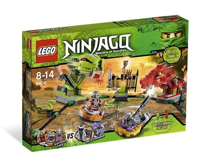 NEW LEGO Ninjago Spinner Battle Arena Game
