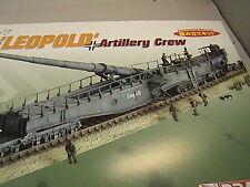 Eisenbahngeschütz Leopold Kit + 12 soldados 1/144 pz. cuerpo de compra inmediata!