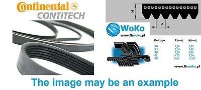 406PJ//160J Major Brand Poly V Multiple Ribbed Belt 406mm//16 inch Length