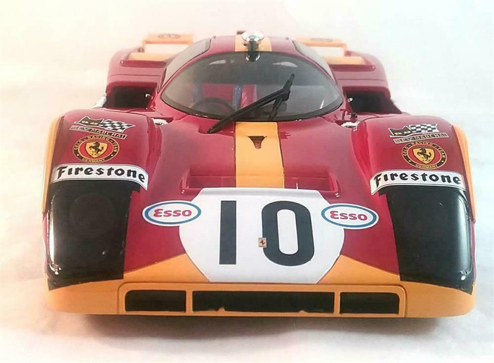 Ferrari 512 M Le Mans 1971 in 1 18 Scale by CMR