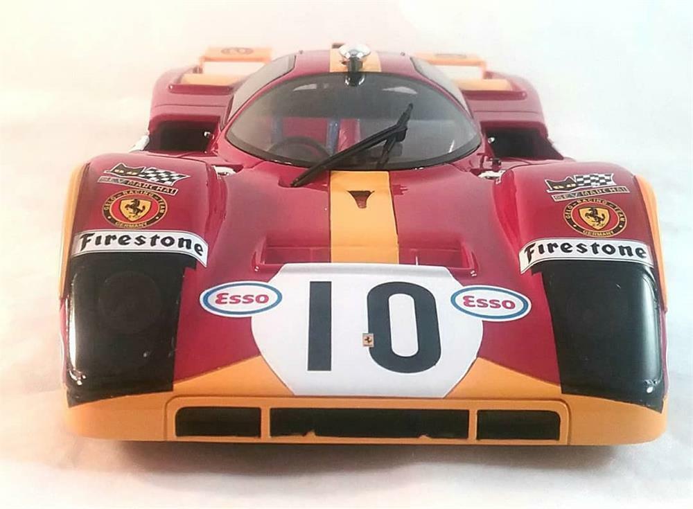 Ferrari 512 M Le Mans 1971 in 1 18 Scale by CMR