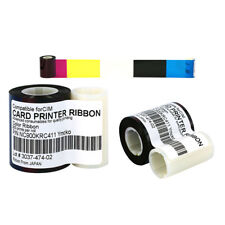 NC900KRC411 YMCKO Color Ribbon For CIM K300C K400C Printer 300 Print Ф22mm