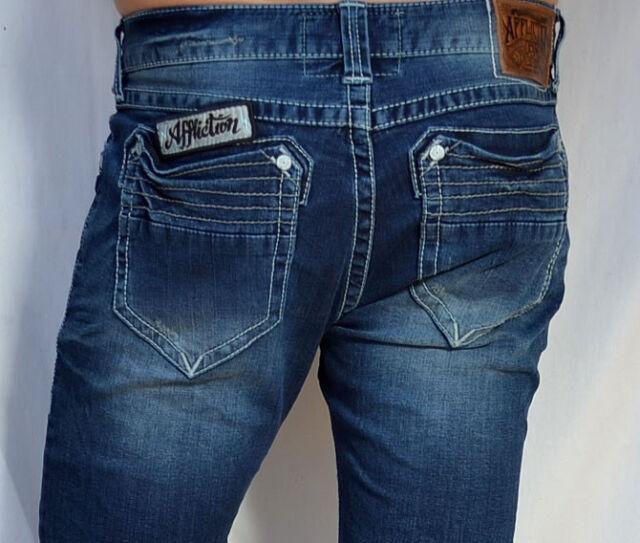 Affliction DPSR - Men's Denim - GAGE MAGNET Jeans - 110SK009 - Boston Blue Wash