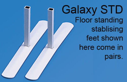 Free Delivery STD feet for floor standing Screen Divider Panel