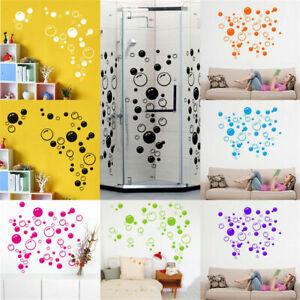 Details zu 88 Bubbles Wall Art Bathroom Window Shower DIY Tile Decal Room  Stickers Kid A9M5
