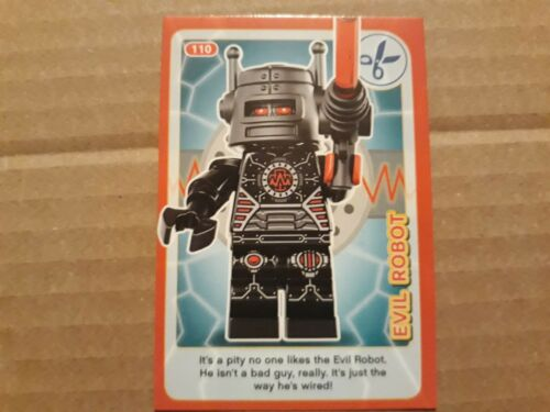 No Sainsbury/'s Lego Incredible Inventions card 110 Evil Robot