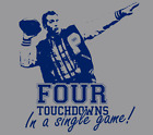 Married With Children Al Bundy Polk High Football No Ma'am blu ray dvd T Shirt