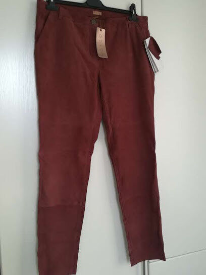 Odeon Conleys, Leather Pants, Größe 42, New