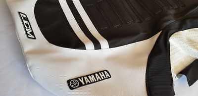 SEAT COVER ULTRAGRIP YAMAHA YFZ450R White /& Black Ultragripp QUALITY!
