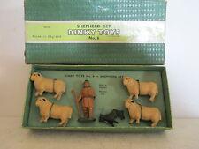 DINKY 6 006 SHEPHERD SET FIGURES X6 MIB UNCOMMON 9 EN BOITE RARE VERY NICE L@@K