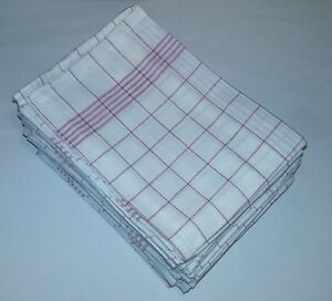 24-Stueck-Geschirrtuecher-Geschirrtuch-Handtuch-Putztuecher-Gastro-Trockentuch-NEU