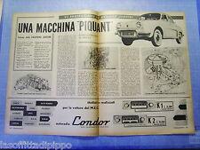 LAUTOM959-RITAGLIO/CLIPPING-ROAD IMPRESSION-1959- RENAULT GORDINI