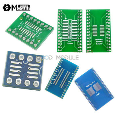 8 10 14 16 20 24 28 SMT Converter Pin Plate 35Pcs Board Adapter SOP TSSOP