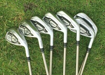 CALLAWAY APEX Forged CF16 Irons 4-PW with RECOIL 760 F3 Shafts  | eBay