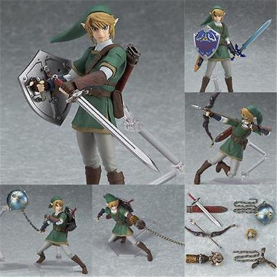 Figma 320 The Legend of Zelda LINK Twilight Princess Ver DX Edition Figure Nobox