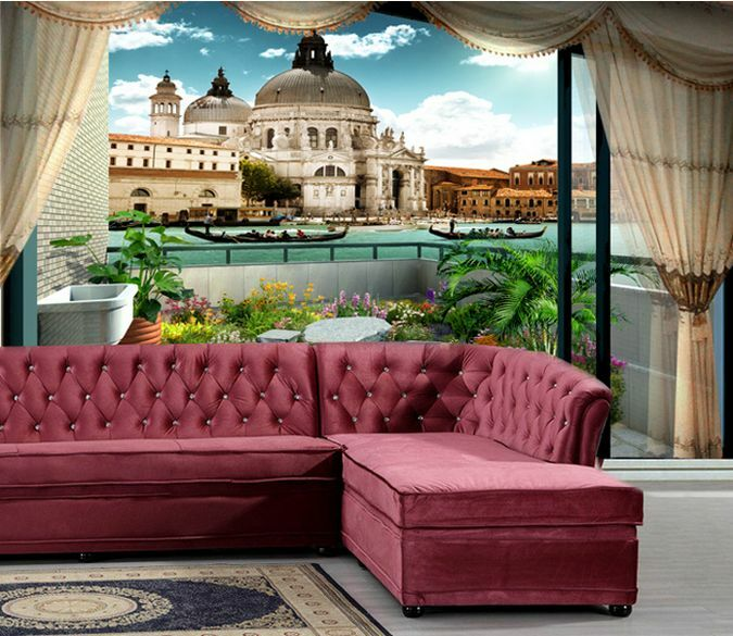 3D Outside city building 0355 Wall Paper Wall Print Decal Wall Deco AJ WALLPAPER