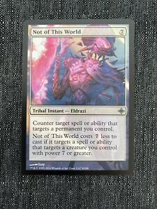 Not of this World NM MTG Rise of Eldrazi Magic