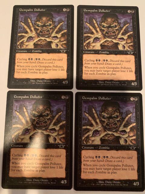 Gempalm Polluter Legions Magic the Gathering MTG SP//LP