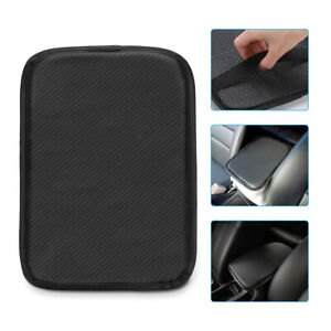 For-NEW-CADILLAC-Carbon-Fiber-Car-Center-Console-Armrest-Cushion-Pad-Cover-1PCS