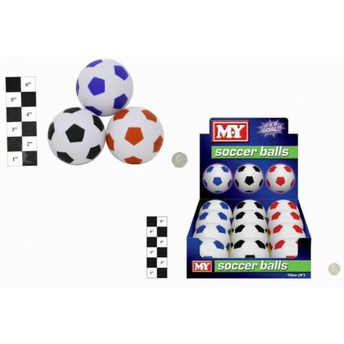 "12 Packs of 4/"" M.Y Footballs In Display Box"