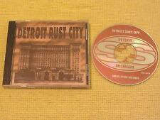 Detroit Rust City CD Album Small Town Records Rock MINT (SS-001).