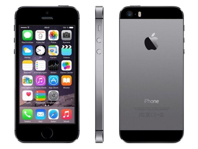 Apple iPhone 5s 64GB SpaceGrau OHNE SIMLOCK Jul