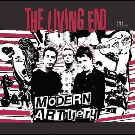 1 of 1 - LIVING END - MODERN ARTILLERY -BRAND NEW AND SEALED CD