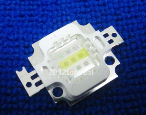 10W Super Actinic Blue+White Hybrid Led For Aquarium 10watt Lamp Light Epistar