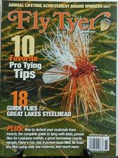 Fly Tyer Spring 2016 10 Favorite Pro Tying Tips Guide Flies FREE SHIPPING sb