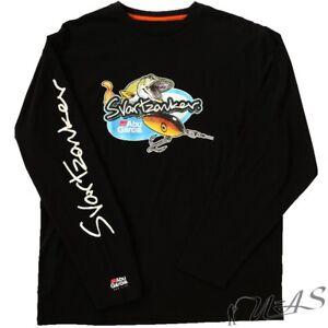 Bekleidung Abu Garcia Svartzonker Mami Long Sleeve T-Shirt XXL Angel Pulli Fisch Druck Sha Angelsport