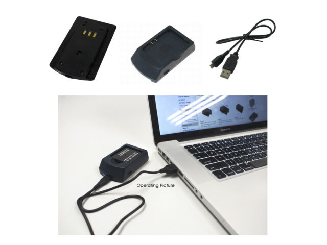 Powersmart USB Cargador para HTC P3450 Touch Touch Elf Vogue