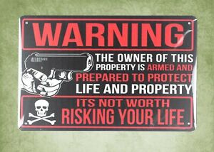 metal wall art ideas Gun Rights Shooting 2nd amendment pro-gun metal tin sign