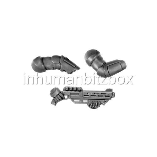 NCPP11 P BRAS FUSIL PALANITE ENFORCER NECROMUNDA  WARHAMMER 40000 BITZ 8-9-11