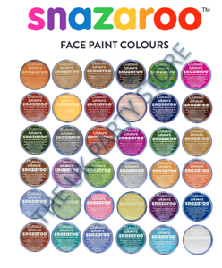 18ml-Classic-SNAZAROO-FACE-PAINTS-36-Shades-Fancy-Dress-Party-Theatre-Makeup