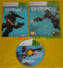BRINK XBOX 360 Versione Ufficiale Italiana 1ª Edizione »»» COMPLETO