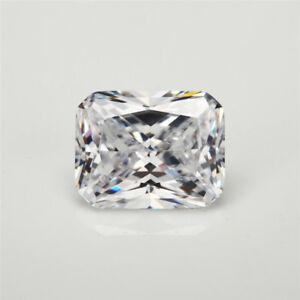 5-2Ct-Unheated-White-Sapphire-Emerald-Cut-8x10mm-AAAAA-VVS-Loose-Gemstone