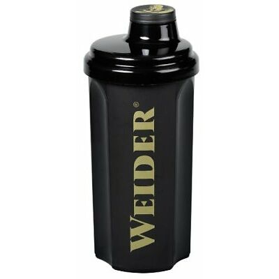 Weider Profi Shaker Eiweißshaker Proteinshaker Flasche 700ml schwarz