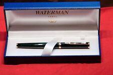 WATERMAN PREFACE  MARBLE GREEN FOUNTAIN PEN NEW IN BOX FINE POINT 18K GOLD NIB