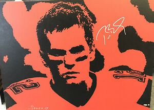 Tom-Brady-Signed-Original-Oil-Painting-1-Of-1-GOAT-Autograph-Tristar-Buckaneers