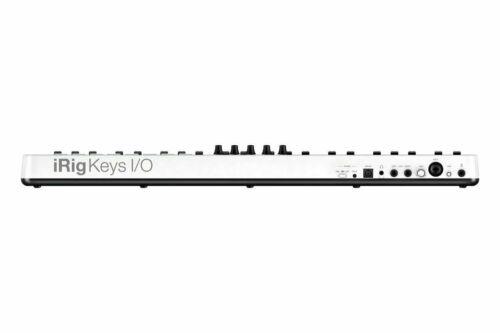 IK Multimedia iRIG Keys I//O 49 49-Key Keyboard Controller for Mac PC and iOS
