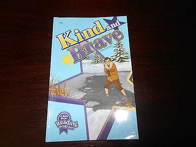 ABeka book KIND AND BRAVE  reader homeschooling 1st grade