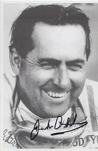 Jack-Brabham-Hand-Signed-6x4-Photo-F1-Autograph-Post-Card-1