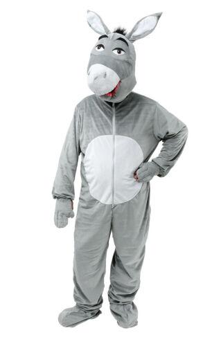 Asino per Adulti con Testa Grossa Taglia Unica Costume