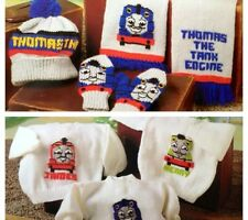 Thomas The Tank Engine, Hat,Scarf,Mitts, Jumpers BARGAIN PRICE Knitting Pattern