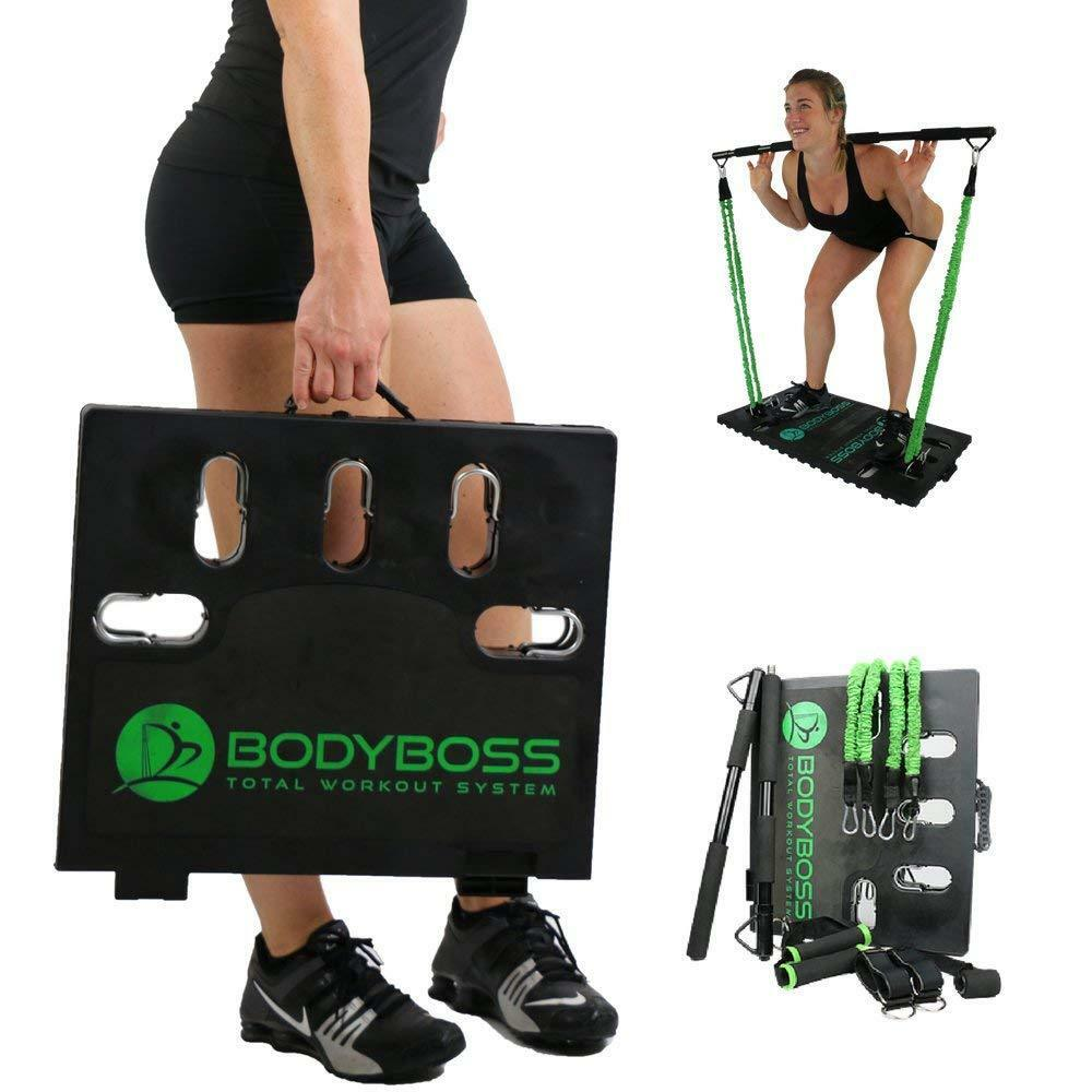 NEW Year Full Portable Home Gym Workout Resistance Fitness Exercise Full Body